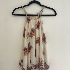 Joie floral tank top